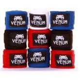 Бинты Venum Boxing Handwraps 4m(чёрные,красные)