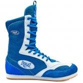 Боксерки замшевые подростковые EVERLAST GBS-51-BL размер 35-39 синий