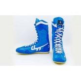 Купить Боксерки ZELART Замша OB-3206B синие недорого