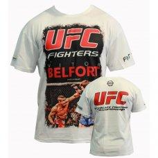 Купить Футболка BERSERK UFC FIGHTERS BELFORT white недорого