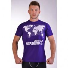 Купить Футболка BERSERK WIND ROSE purple недорого