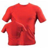 Футболка компрессионная BERSERK тренировочная MARTIAL FIT red (размер S,L)