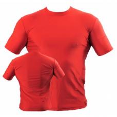 Купить Футболка компрессионная BERSERK тренировочная MARTIAL FIT red (размер S,L) недорого