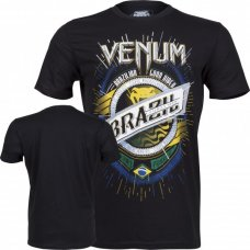 Купить Футболка Venum Keep Rolling T-Shirt Black недорого
