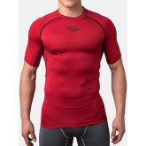 Компрессионная футболка Peresvit Air Motion Compression Short Sleeve T-Shirt Red Black