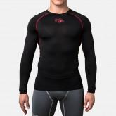 Купить Компрессионная футболка Peresvit Air Motion Compression Long Sleeve T-Shirt Black Red  недорого