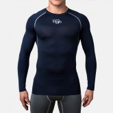 Компрессионная футболка Peresvit Air Motion Compression Long Sleeve T-Shirt Black Grey