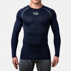 Купить Компрессионная футболка Peresvit Air Motion Compression Long Sleeve T-Shirt Black Grey лучшая цена недорого