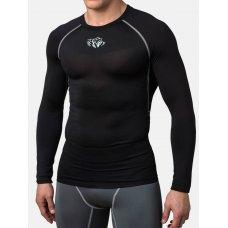 Купить Компрессионная футболка Peresvit Air Motion Compression Long Sleeve T-Shirt Black лучшая цена недорого