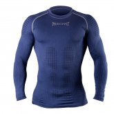 Купить Компрессионная футболка с длинным рукавом Peresvit 3D Performance Rush Compression T-Shirt Navy недорого