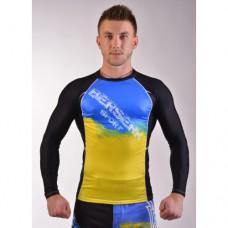 Купить Рашгард для MMA BERSERK UKRAINE FIGHTER black недорого