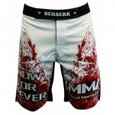 Купить Шорты для MMA BERSERK BLOOD FIGHTER white  недорого