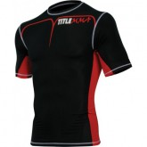 Рашгард с коротким рукавом TITLE MMA Quad-Flex размер XL