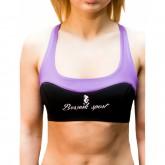 Купить Топ BERSERK LEGACY purple/black недорого