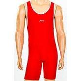Трико для борьбы и тяжелой атлетики, пауэрлифтинга ASICS CO-5440-R красный