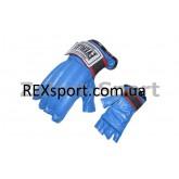 Купить Снарядные перчатки (шингарты) обрезан. Кожа EVERLAST VL-01044  недорого
