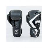 Перчатки боксерские кожаные на липучке VENUM CONTENDER 2.0 VL-8202-BKW