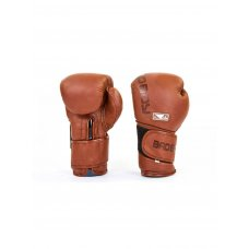 Купить Перчатки боксерские кожаные на липучке BAD BOY LEGACY 2.0 VL-6618-BR коричневый недорого