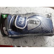 """Купить Перчатки боксерские """"0555"""" Green Hil кожа синие недорого"""