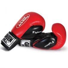 Купить Боксерские перчатки Green Hill FIGHTER красные недорого