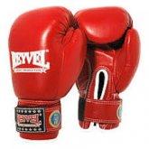 Купить Перчатки боксерские REYVEL, ФБУ  красные 12унц недорого