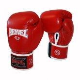 Купить Боксерские перчатки REYVEL / Кожа красные 12 унц недорого