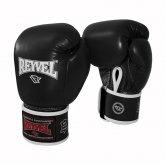 Купить Боксерские перчатки REYVEL Кожа 16 унц чёрные недорого