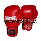 Боксерские перчатки REYVEL Винил красные