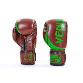 Перчатки боксерские кожаные на липучке VENUM CHALLENGER BO-5245-BR