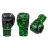 Перчатки боксерские кожаные на липучке VENUM CHALLENGER BO-5245-G