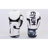 Купить Перчатки боксерские PU на липучке VENUM BO-5698-W   недорого