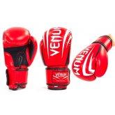 Перчатки боксерские DX на липучке VENUM SHARP MA-5315 красные