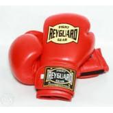 Купить Боксёрские перчатки кожа ФБУ Reyguard красные  недорого