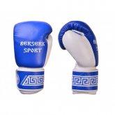 Перчатки БОКС BERSERK SPORT (кожа) blue