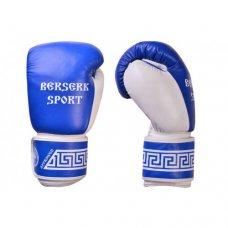 Купить купить Перчатки БОКС BERSERK SPORT (кожа) blue недорого