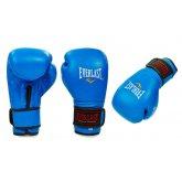 Перчатки боксерские кожаные EVERLAST BO-4748-B синие