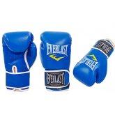 Перчатки боксерские PU на липучке EVERLAST BO-3987-B
