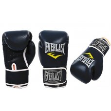 Купить купить Перчатки боксерские PU EVERLAST BO-3987-BK  черный недорого