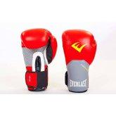 Купить Перчатки боксерские кожаные на липучке EVERLAST PRO STYLE ELITE BO-5228-R  недорого