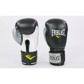Купить Перчатки боксерские кожаные на липучке EVERLAST MA-6750-BKS недорого