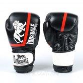 Перчатки боксерские кожаные на липучке LONSDALE XPEED VL-8340-BKW