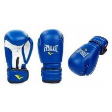 Купить Перчатки боксерские PVC EVERLAST MA-5018-B(синие)  недорого