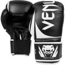 Купить Тренировочные боксерские перчатки Venum Challenger 2.0(Синие,Чёрные)14,16унц недорого