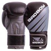Перчатки боксерские кожаные на липучке Bad Boy MA-6738 (р-р 10-14oz)