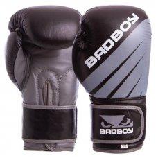 Купить Перчатки боксерские кожаные на липучке Bad Boy MA-6738 (р-р 10-14oz) недорого