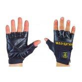 Купить Перчатки спортивные многоцелевые GOLDS GYM BC-3609 кожа  недорого