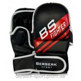 Перчатки для смешанных единоборств 7 oz FIGHTER black размер М