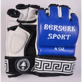 Купить Перчатки BERSERK SPORT TRADITIONAL  for Pankration  approwed WPC 4 oz blue  недорого