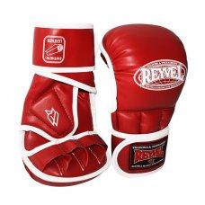 Купить Перчатки рукопашные REYVEL кожа Красные размер L недорого