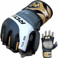 Купить Перчатки ММА RDX GOLD РАзмер XL недорого